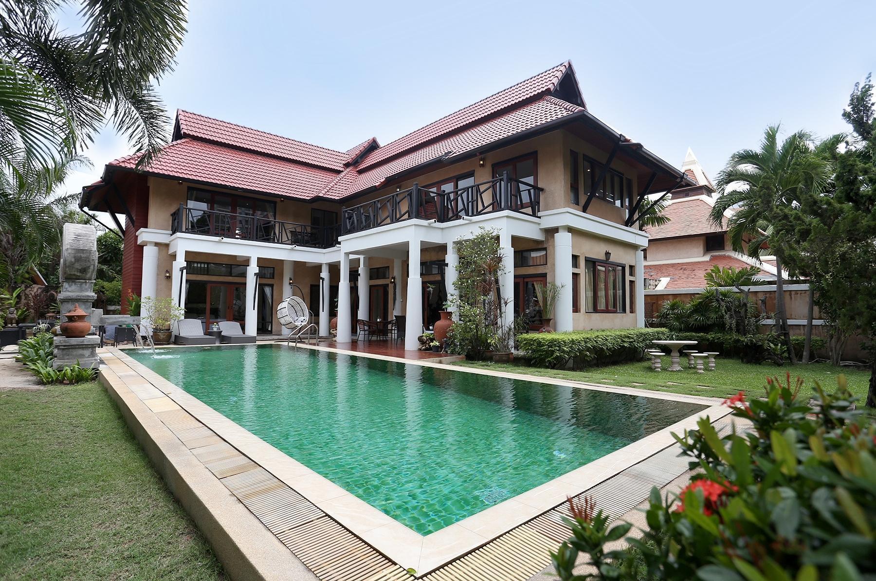 rakpattaya pool villa thai bali style 3 bed room บ้านเดี่ยว 3 ห้องนอน 3 ห้องน้ำส่วนตัว ขนาด 1600 ตร.ม. – เขาพระตำหนัก