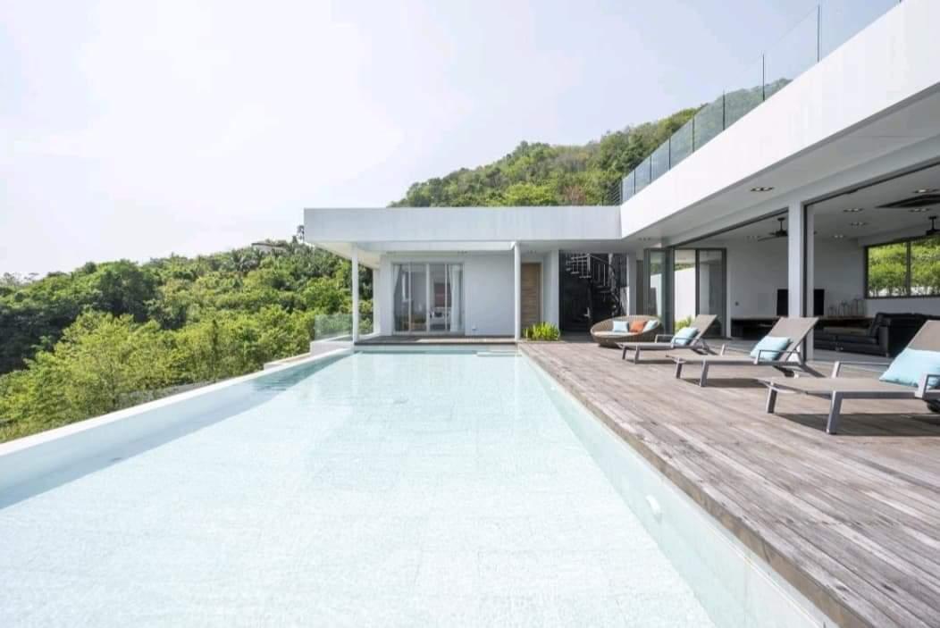 Unique luxury Private Villa 4bds seaview pool วิลลา 4 ห้องนอน 4 ห้องน้ำส่วนตัว ขนาด 1400 ตร.ม. – ป่าคลอก
