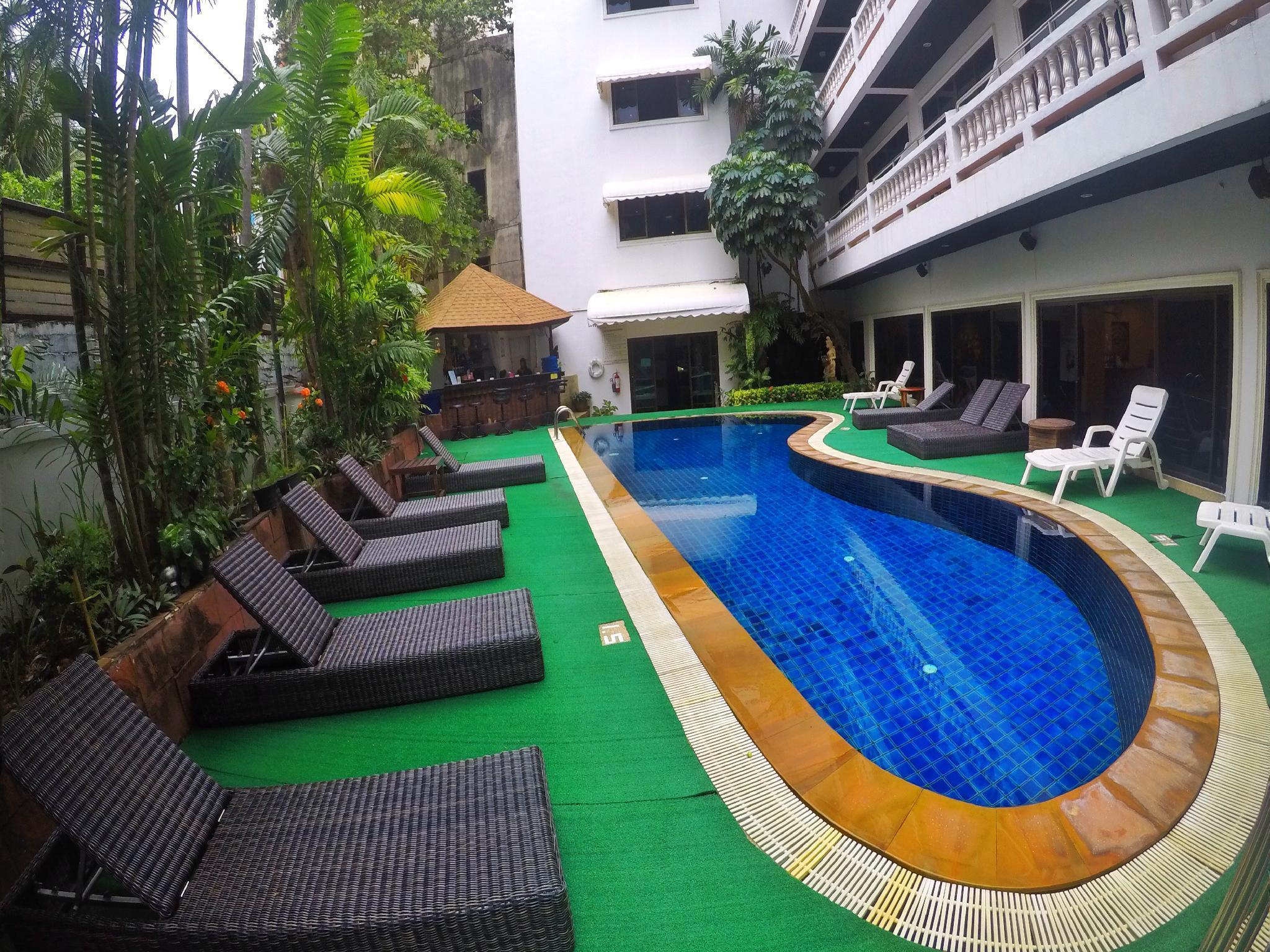 2 Bedroom Apt. Pool View in Patong Beach #b1