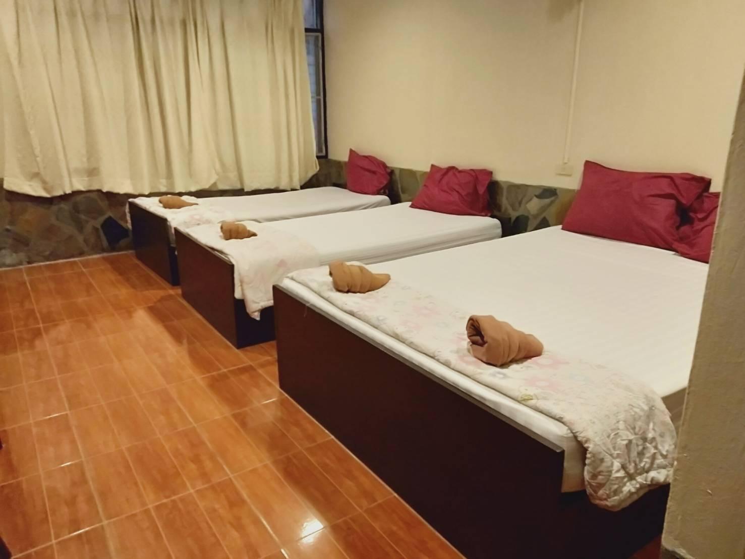 Sridang Hotel Sangklaburi อพาร์ตเมนต์ 10 ห้องนอน 10 ห้องน้ำส่วนตัว ขนาด 16 ตร.ม. – สังขละบุรี