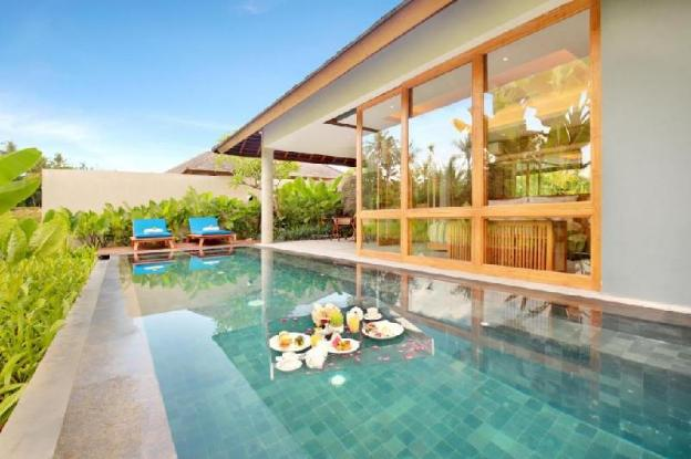 Best Private Pool Villa at Ubus Central 1BDR