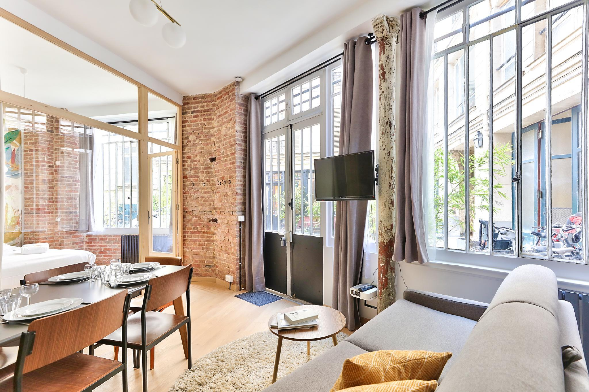 NEW Design Flat In The Heart Of Paris-An Ecoloflat