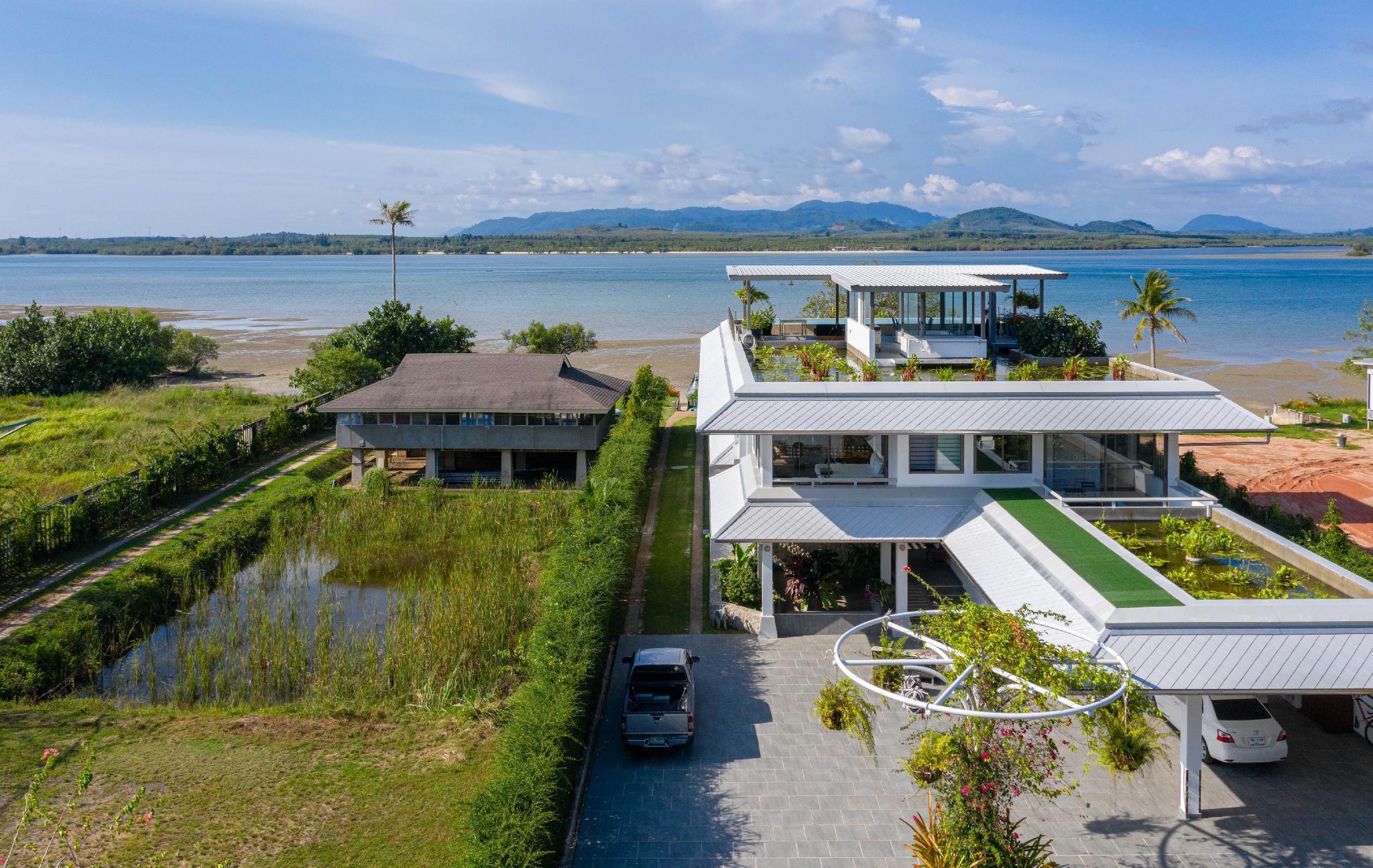 MaiKhao Beach Private Villa with Two Pools วิลลา 7 ห้องนอน 9 ห้องน้ำส่วนตัว ขนาด 2500 ตร.ม. – ไม้ขาว
