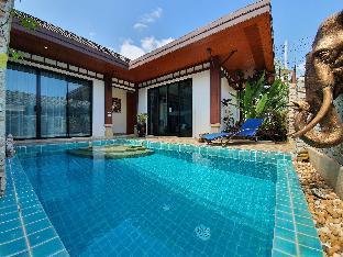 [チャロン]ヴィラ(260m2)| 2ベッドルーム/3バスルーム  Rawai Beach, Simple style private villa with pool