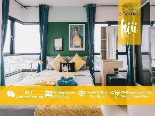 [スクンビット]アパートメント(56m2)| 2ベッドルーム/2バスルーム [hiii] Apres Lune*RooftopPool/AirportLink-BKK222
