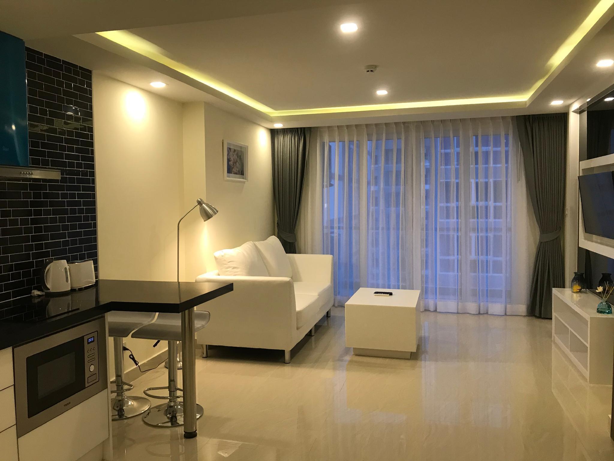 Quartier.15 Pattaya Grand Avenue Condo 65 อพาร์ตเมนต์ 1 ห้องนอน 1 ห้องน้ำส่วนตัว ขนาด 61 ตร.ม. – พัทยากลาง