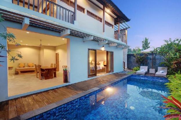 Two Bedroom Pool Villa Sativa Ubud - Breakfast