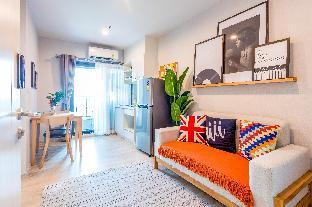 [Ratchada]アパートメント(30m2)| 1ベッドルーム/1バスルーム [hiii]AutumnInMist*InfinityPool*AirportLink-BKK225