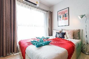 [Ratchada]アパートメント(30m2)| 1ベッドルーム/1バスルーム [hiii]Cramoisie/BoundlessPool/Rama9-BKK229