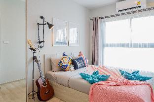 [Ratchada]アパートメント(30m2)| 1ベッドルーム/1バスルーム [hiii]DreamyTraveler/InfinityPool/Rama9-BKK234