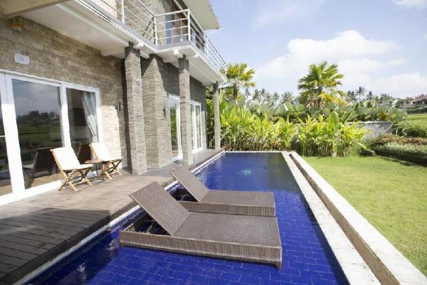 2BR Private Pool +Field View +GYM Inside +Spa Bath