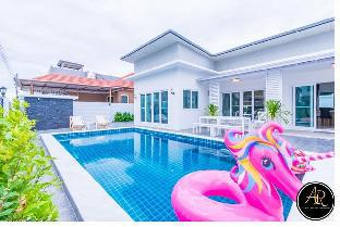 Aomsin Residence Pool Villa @HuanHin102 วิลลา 3 ห้องนอน 2 ห้องน้ำส่วนตัว ขนาด 135 ตร.ม. – ทับใต้