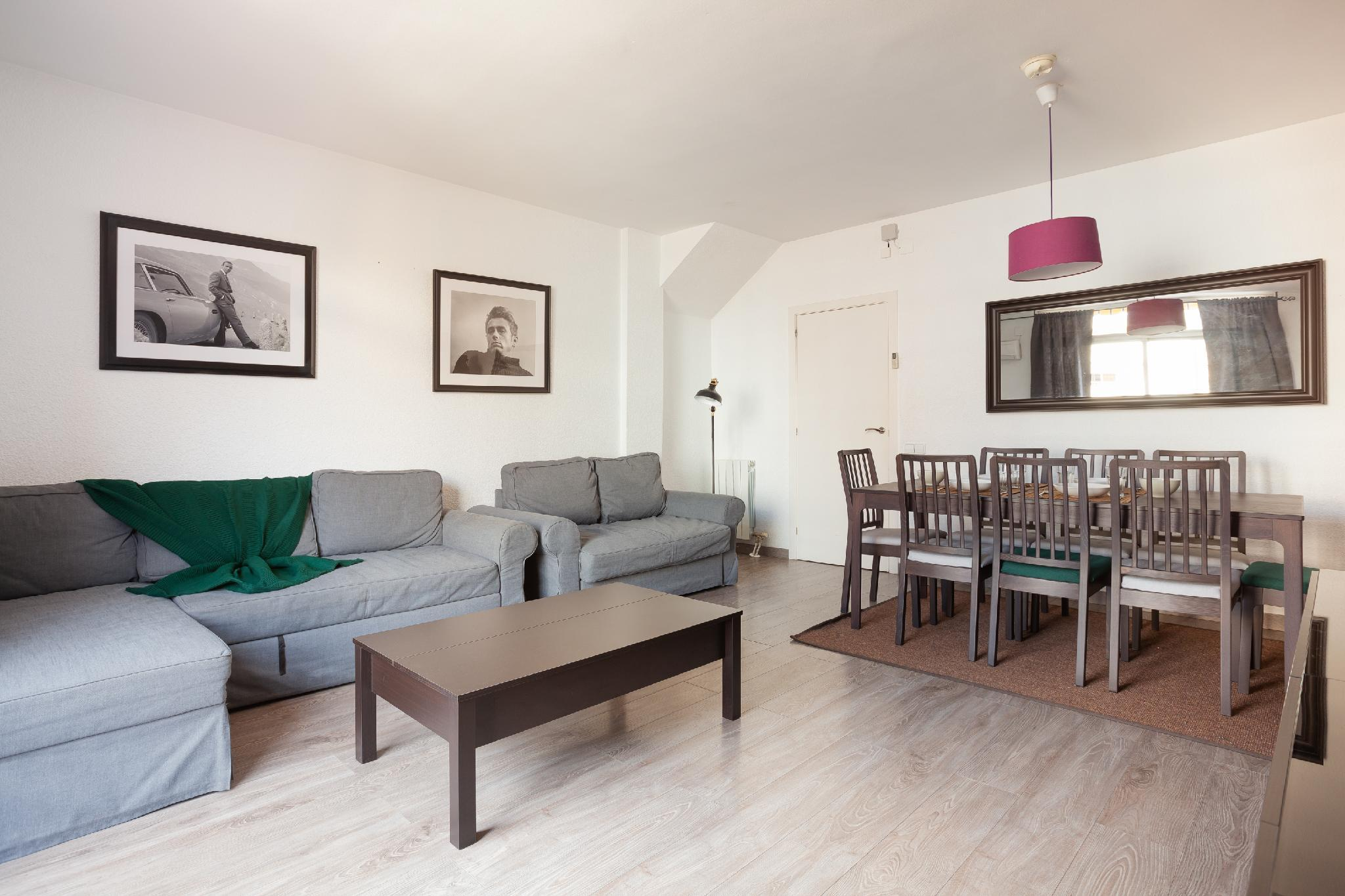 Spacious DUPLEX with TERRACE perfect for families!