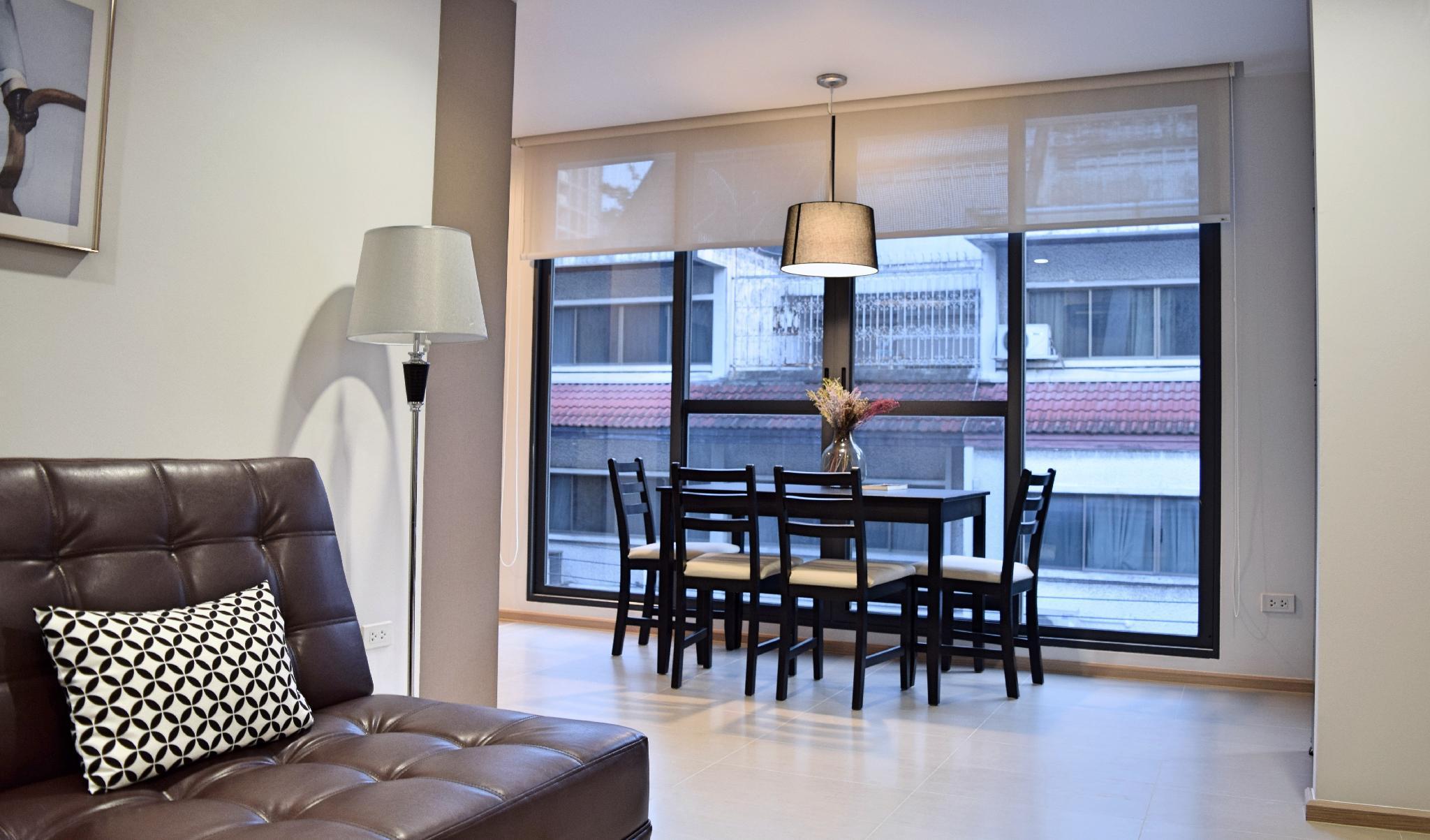 Bangkok Mayflower House 2Bedroom Suite 70m²;Garden
