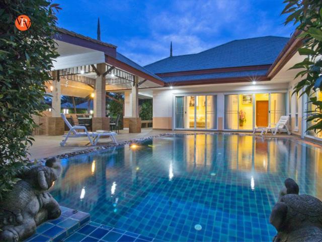 4 ห้องนอน 3 ห้องน้ำส่วนตัว ขนาด 380 ตร.ม. – พัทยากลาง – Villa Athena 4 Bedroom Pool Villa