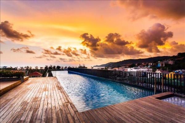 Luxury studio in Patong beach with Pool & Gym! Phuket
