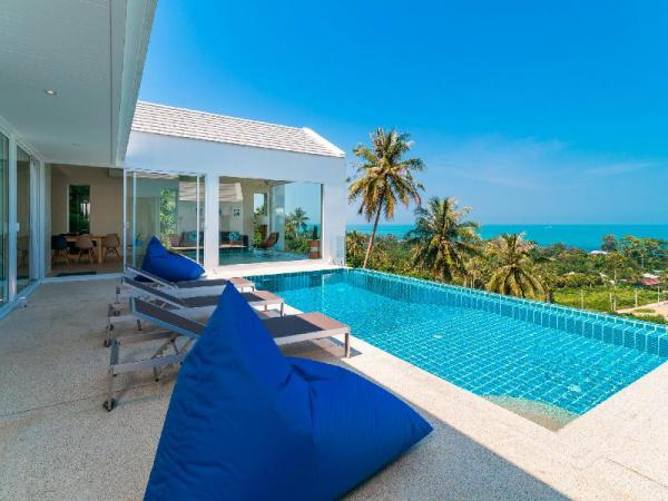 BRAND NEW FANTASTIC 180 SEA VIEW 5 BEDROOM VILLA Koh Samui