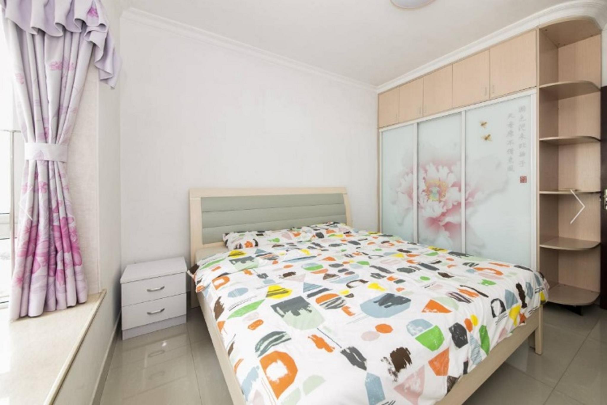 Futian Shenyun Station Master Bedroom With Service