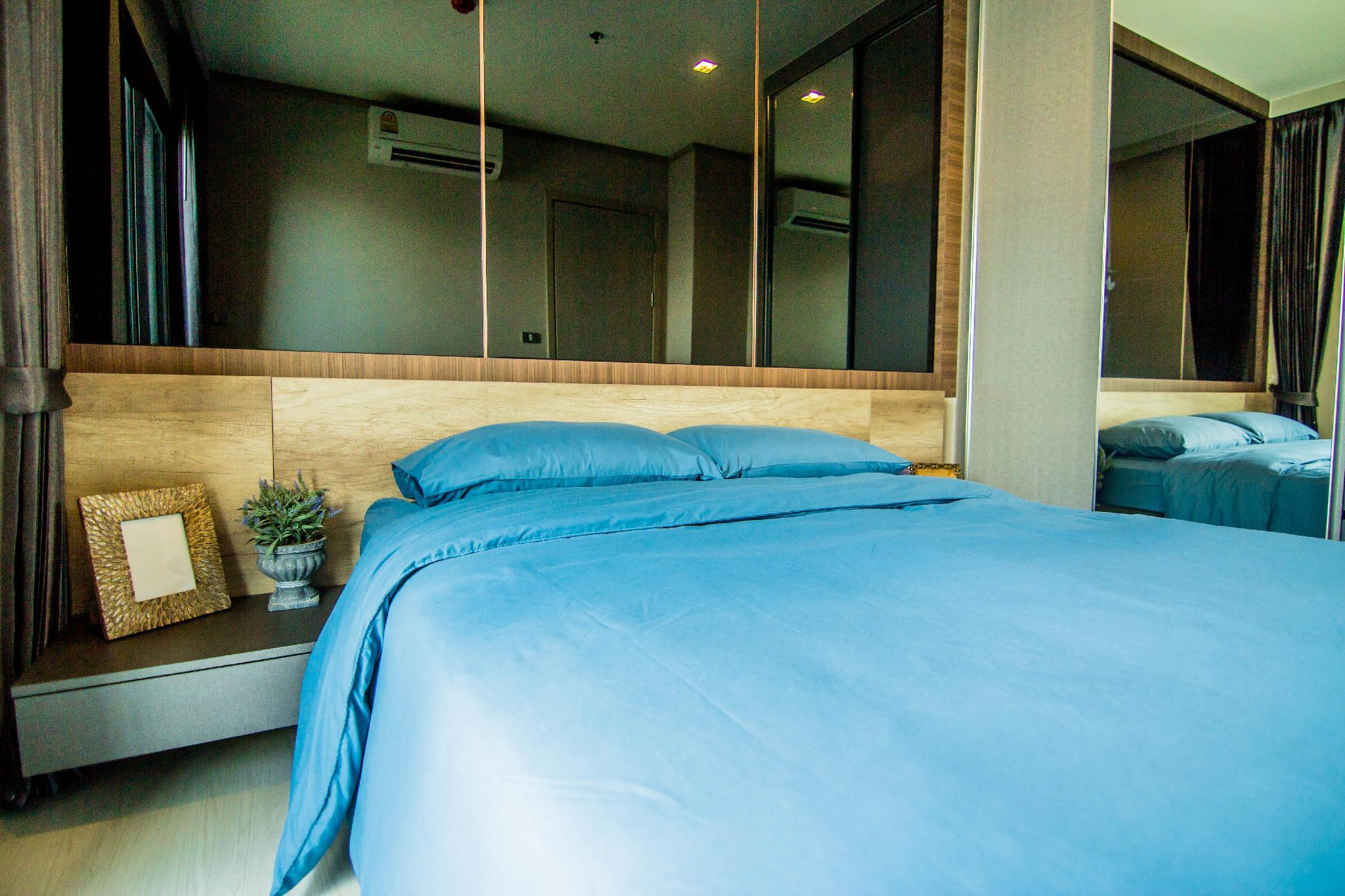 MA1. LUXURY NEW 1BR  WALK TO BTS Thonglor  WIFI