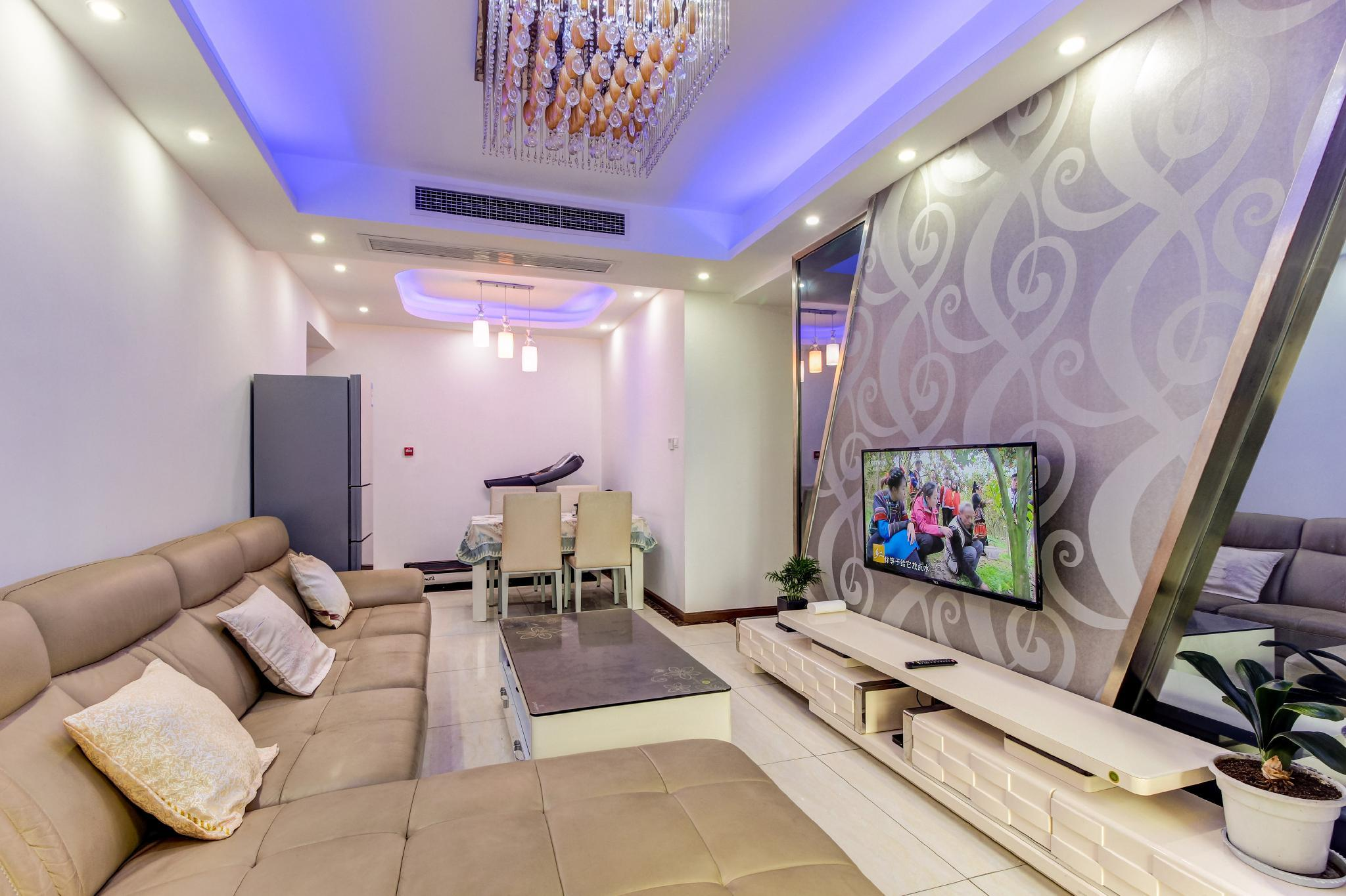 A Comfortable Family Suite Near KuanandZhai Alley