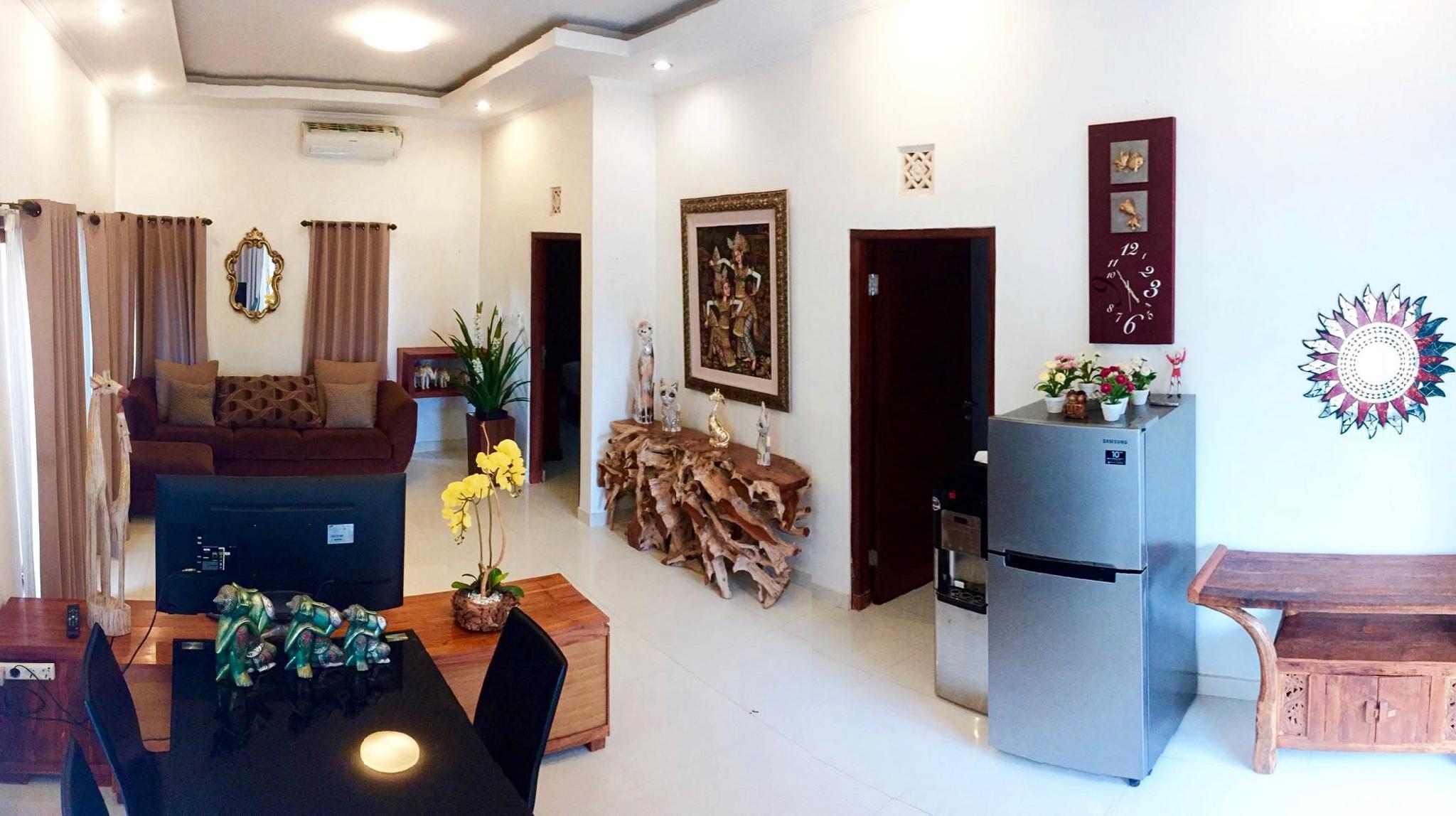 A Cozy And Comfortable 2 BR Villa In South Kuta Bali