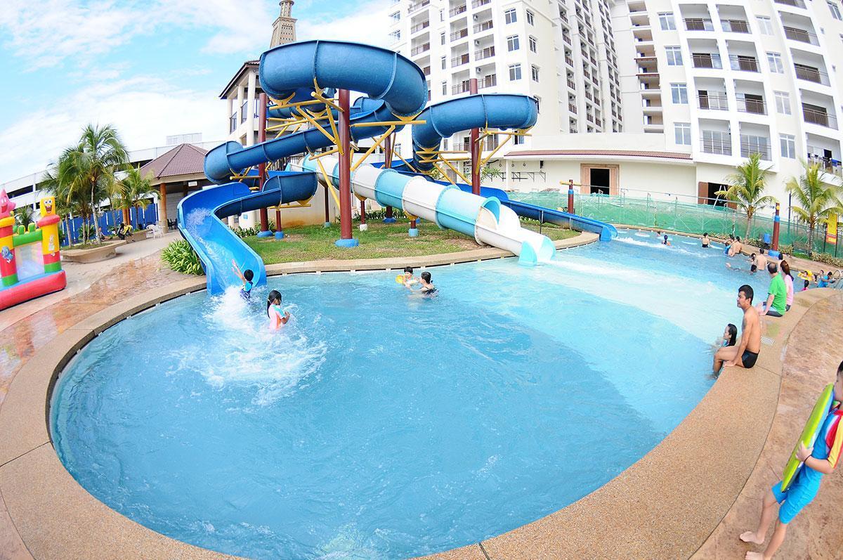Studio JACUZZI Bayou Lagoon Melaka FREE WATERPARK