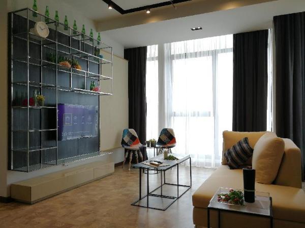 Luxury 2 Bedrooms Suites (4-7pax) at KL City Kuala Lumpur