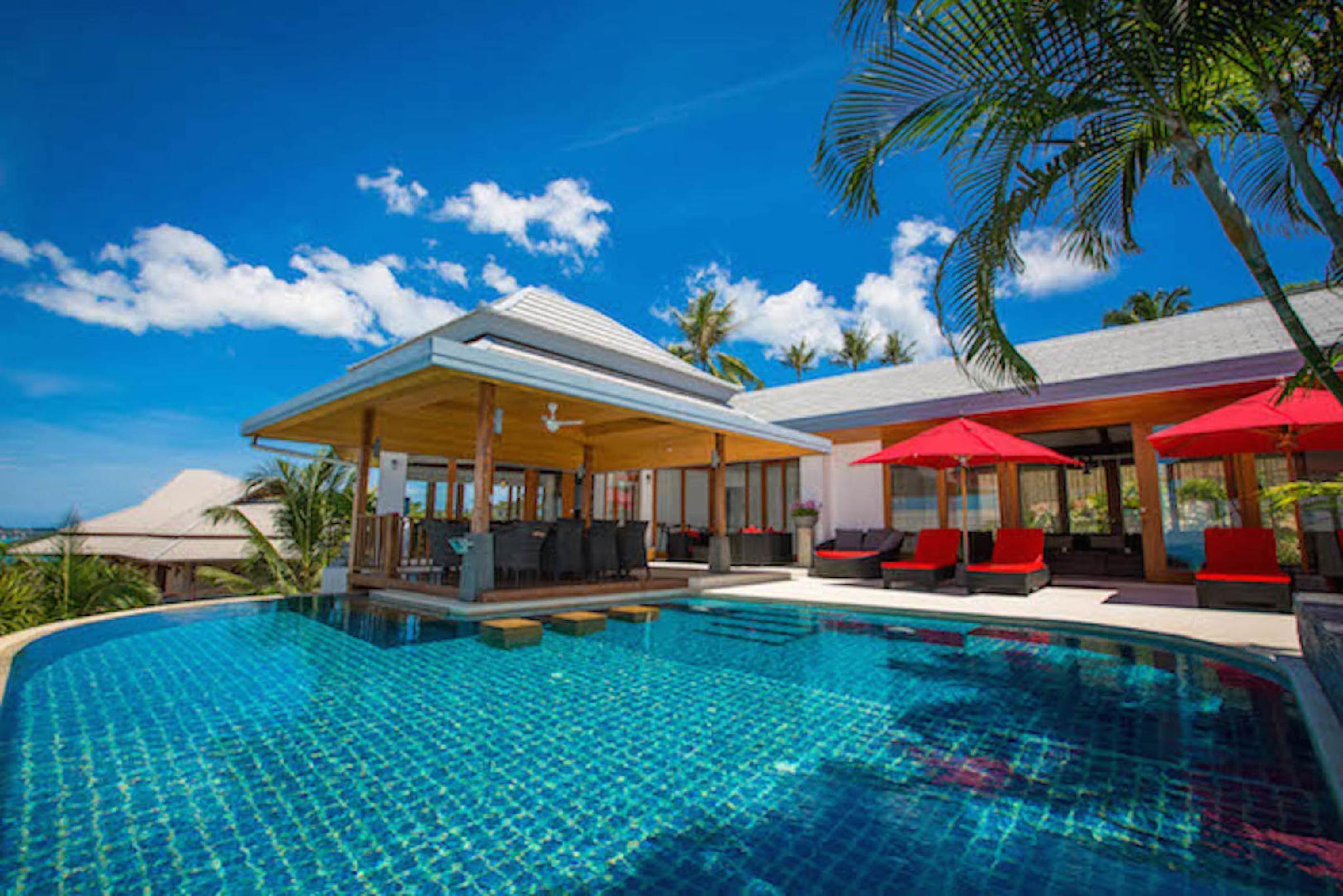 Villa La Vue 5 BDRM Sea View Private Pool