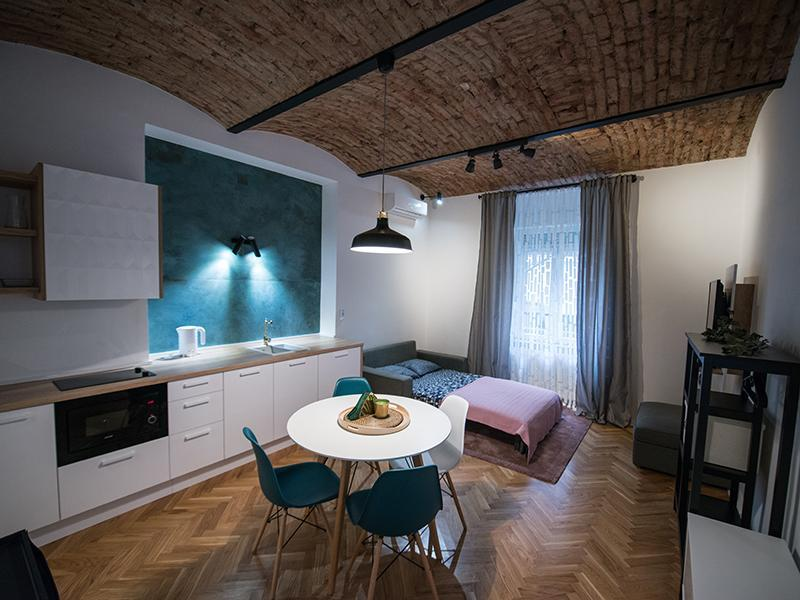 Zagreb City Center Studio Apartment   Green Oasis