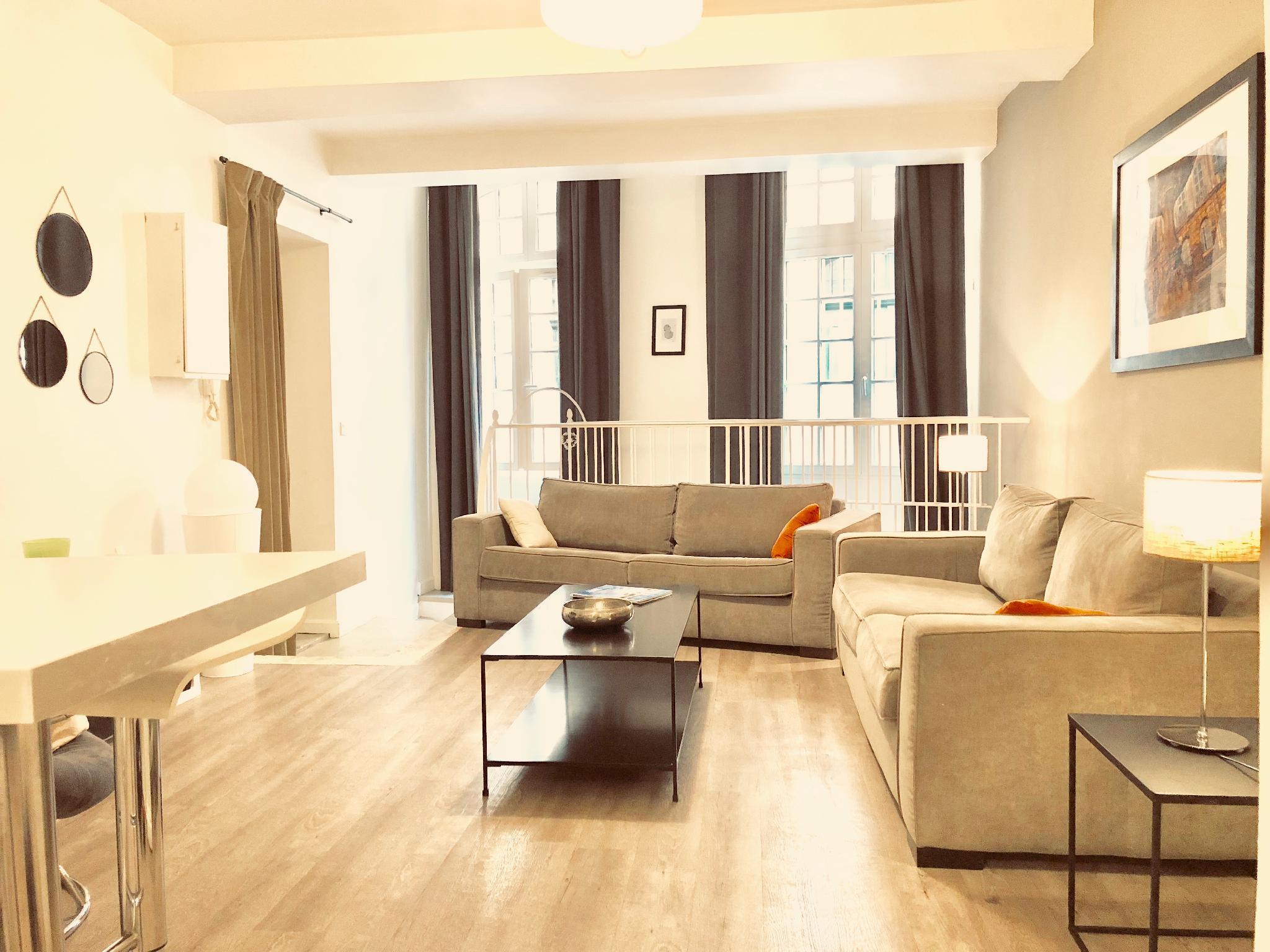 Appartement T2 De 70m2 Plein Centre   5 Personnes