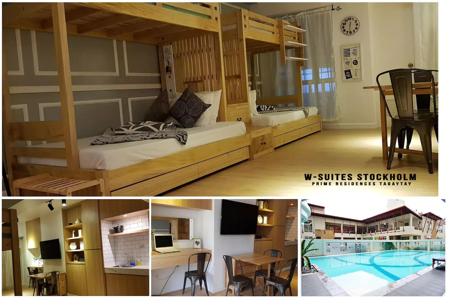 W-Suites Bnew Stockholm w/ xbox, videoke & pool