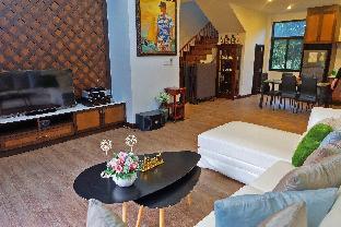 [カオヤイ国立公園]一軒家(80m2)| 3ベッドルーム/4バスルーム AmbVille Resort Khao Yai - San Mitree House