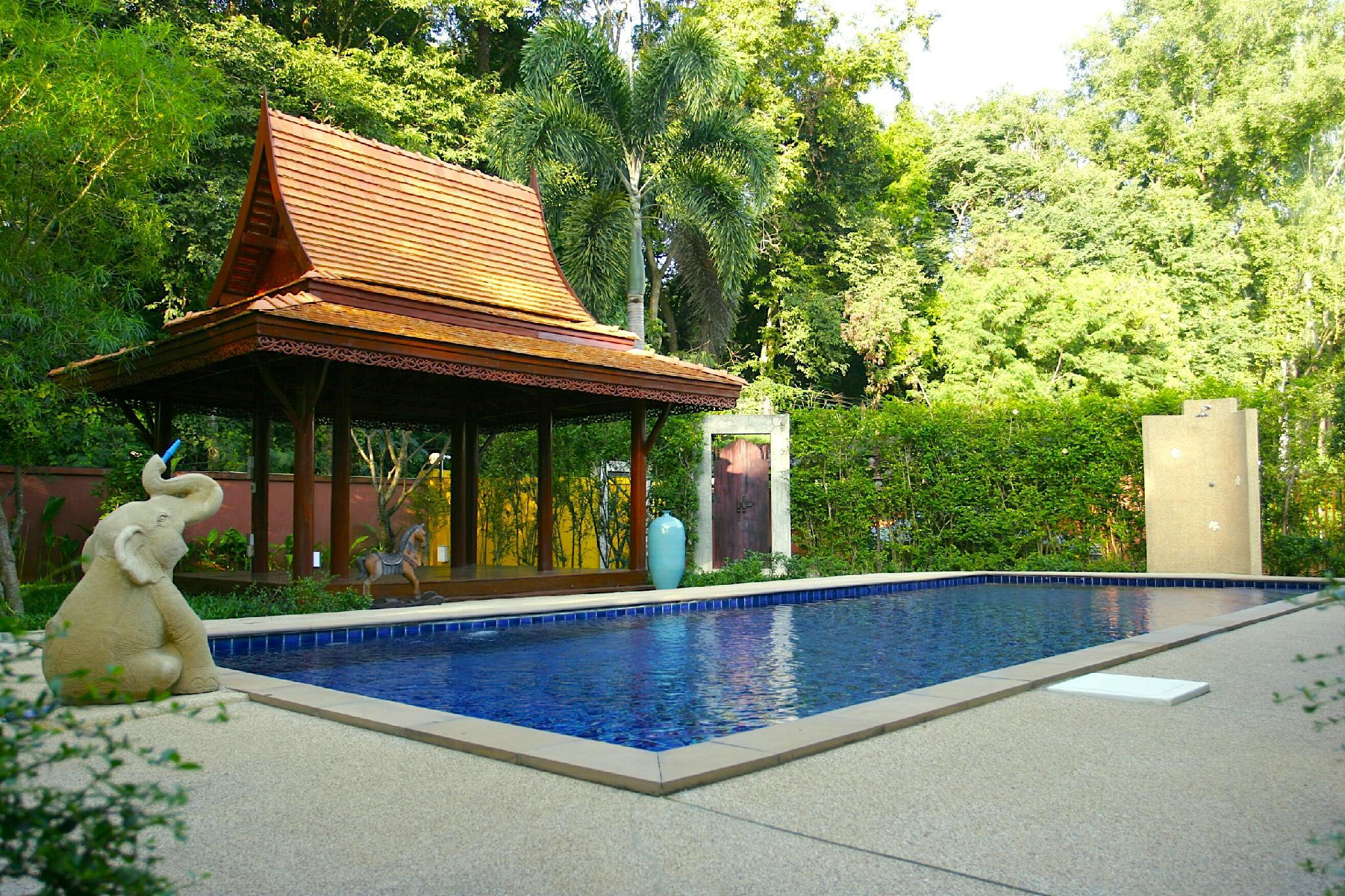 The Villa Vanali Two Bedroom Pool Front