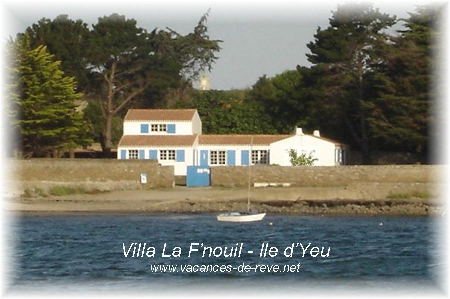 Villa La F'nouil   Ile D'Yeu