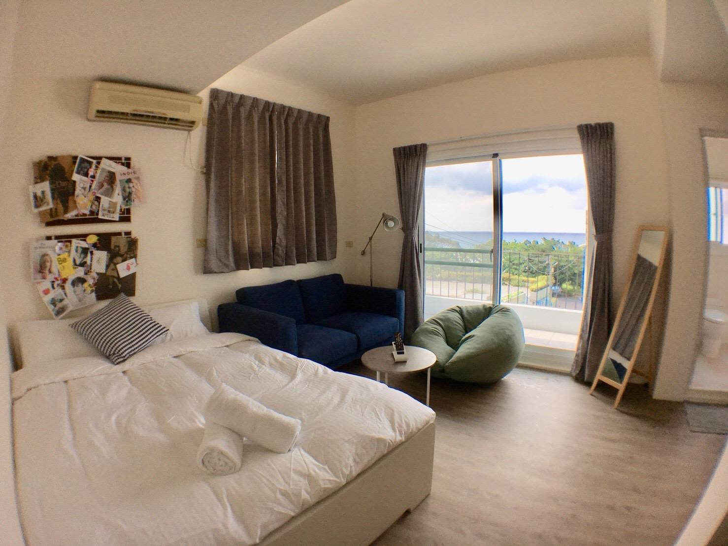 Jialeshui Hiddieland Seaview Double Bed For 2