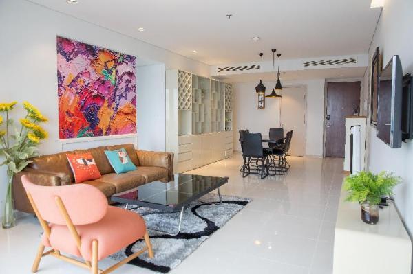 AN luxury vibrant 2BR apt City Garden *FREE pools* Ho Chi Minh City