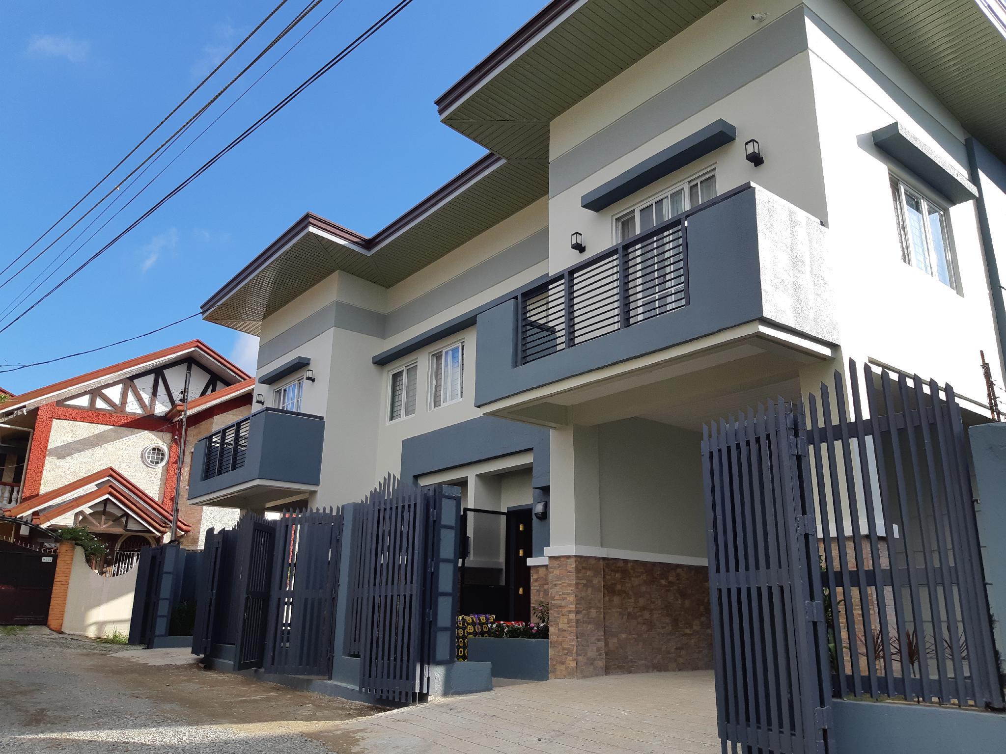 Restful Hillside Duplex House