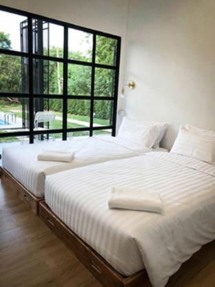 [ラヨーンビーチ]ヴィラ(200m2)| 3ベッドルーム/2バスルーム 3 Bedrooms Ban Rub Lom Pool Villa