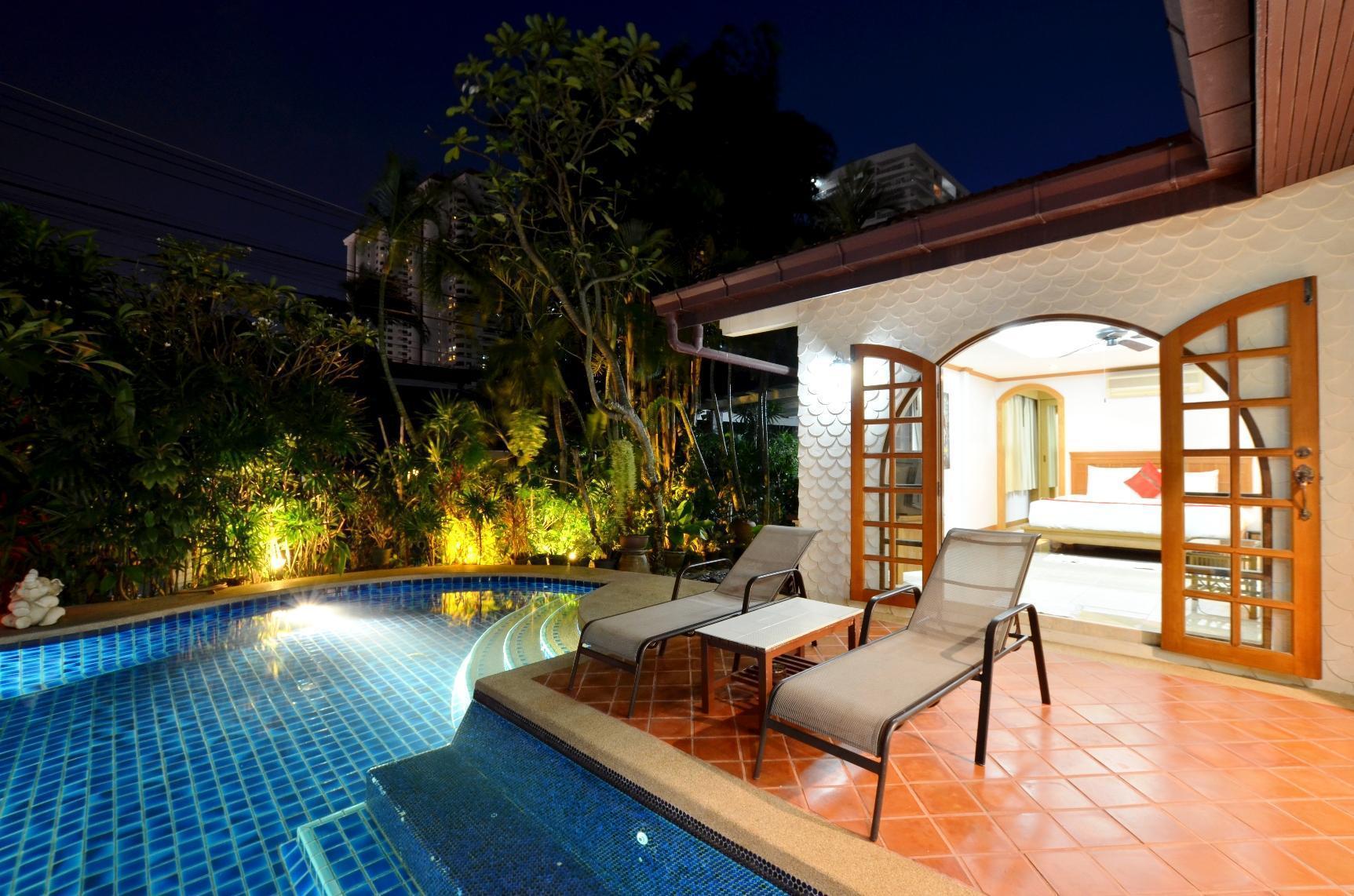 Grand Condo Wasana Pool villa300meter from beach แกรนด์คอนโดวาสนาพูลวิลล่า