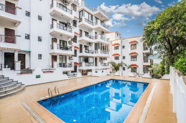 Comfy 1 BHK with a pool, near Chapora Fort/66925 Goa