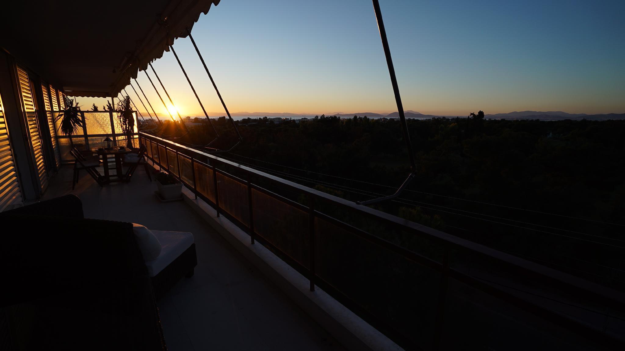 Glyfada Apartment   Golf View   Sea & Sunset View