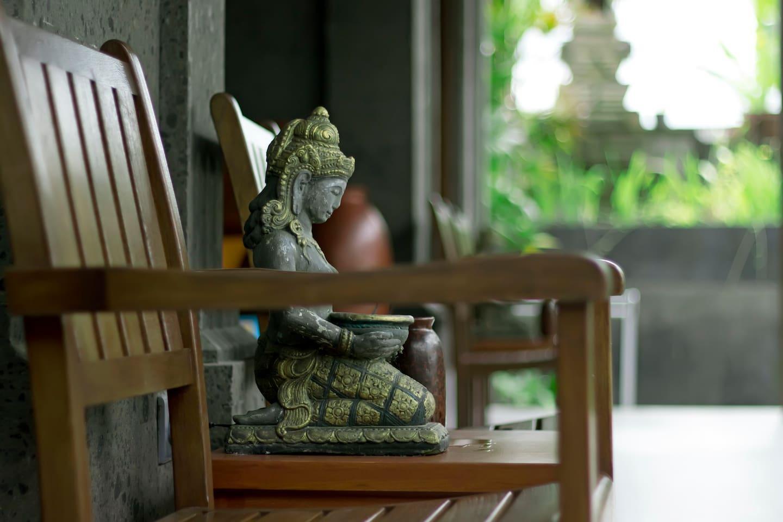 Villa Heron Ubud 6 BR With Balinese Style