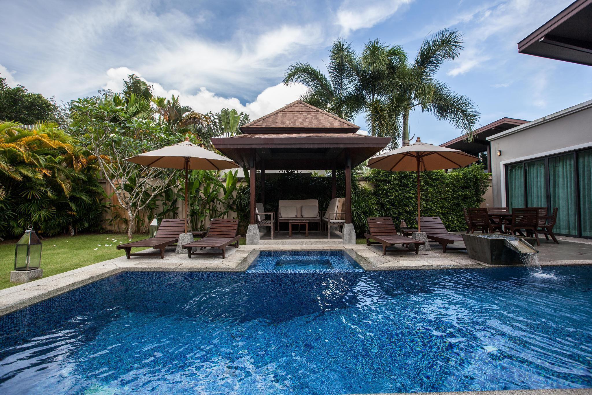 Luxury Villa Baan Vana 3 bed with pool วิลลา 3 ห้องนอน 2 ห้องน้ำส่วนตัว ขนาด 180 ตร.ม. – บางเทา