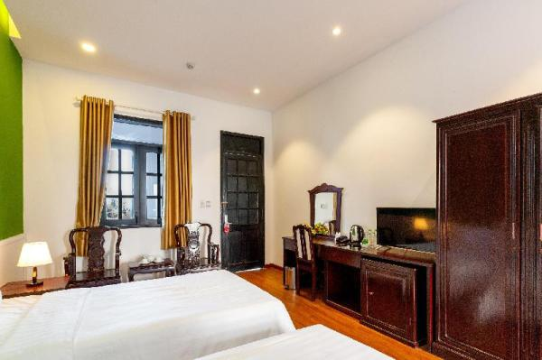 Indochina Style Twin room with Fresh Air Ho Chi Minh City