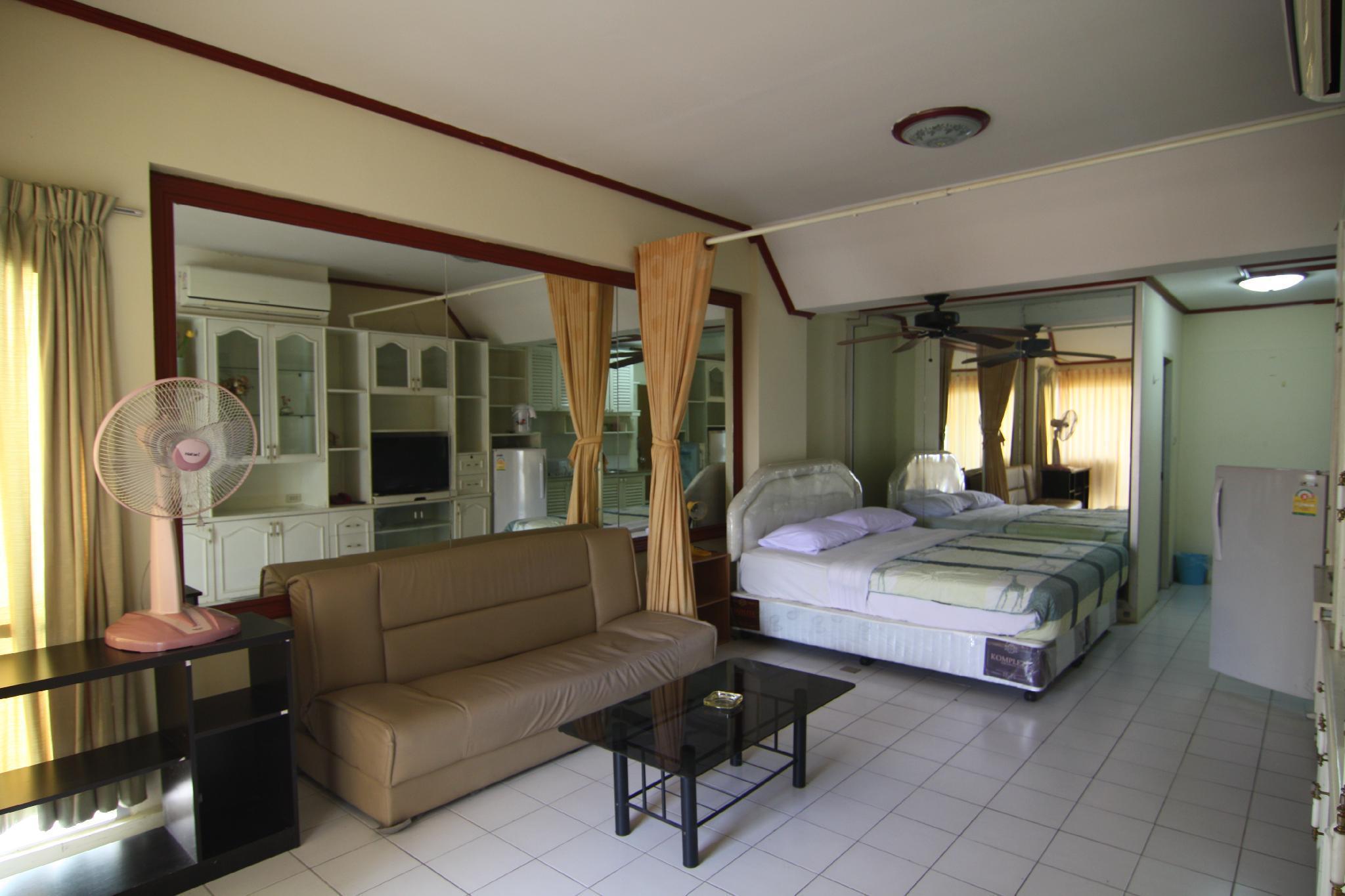 pattaya tower Room 507 สตูดิโอ อพาร์ตเมนต์ 1 ห้องน้ำส่วนตัว ขนาด 40 ตร.ม. – ถนนเลียบชายหาด