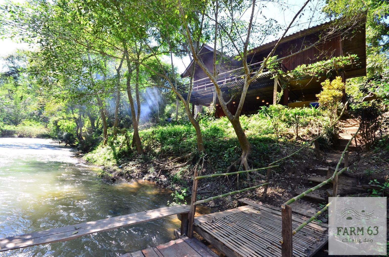 Farm63 Chiang Dao Riverfront Home บ้านเดี่ยว 1 ห้องนอน 2 ห้องน้ำส่วนตัว ขนาด 200 ตร.ม. – แม่นา