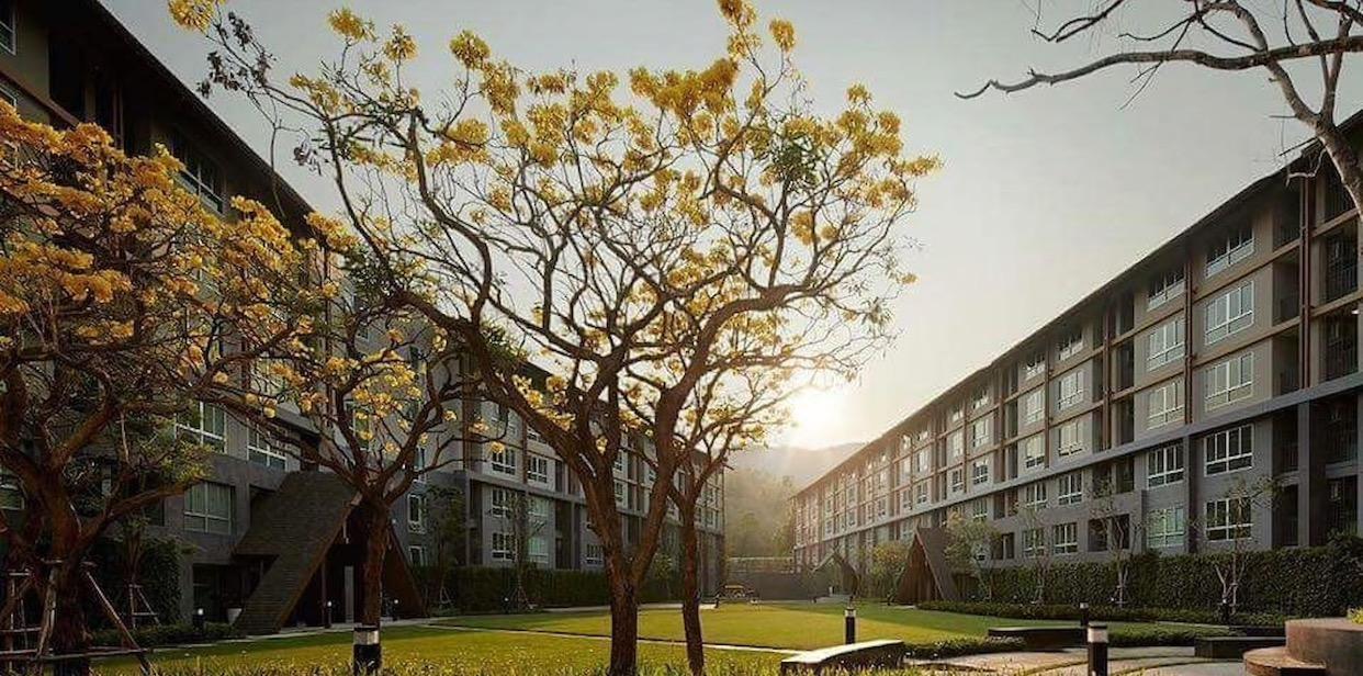 Campus Resort&Great View of Suthep Mountain&CMU อพาร์ตเมนต์ 1 ห้องนอน 1 ห้องน้ำส่วนตัว ขนาด 32 ตร.ม. – สุเทพ