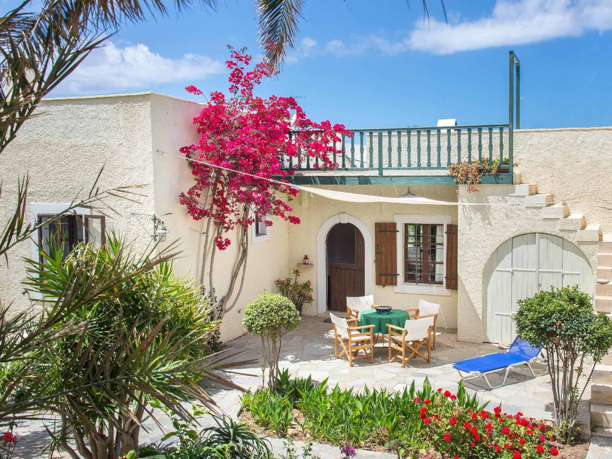Bougainvillea House In Crete