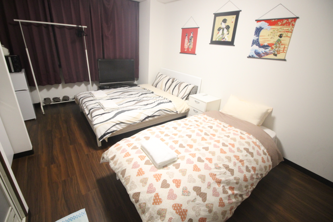 I3 Yamanote Line Cozy Apartment With Two Bedrooms