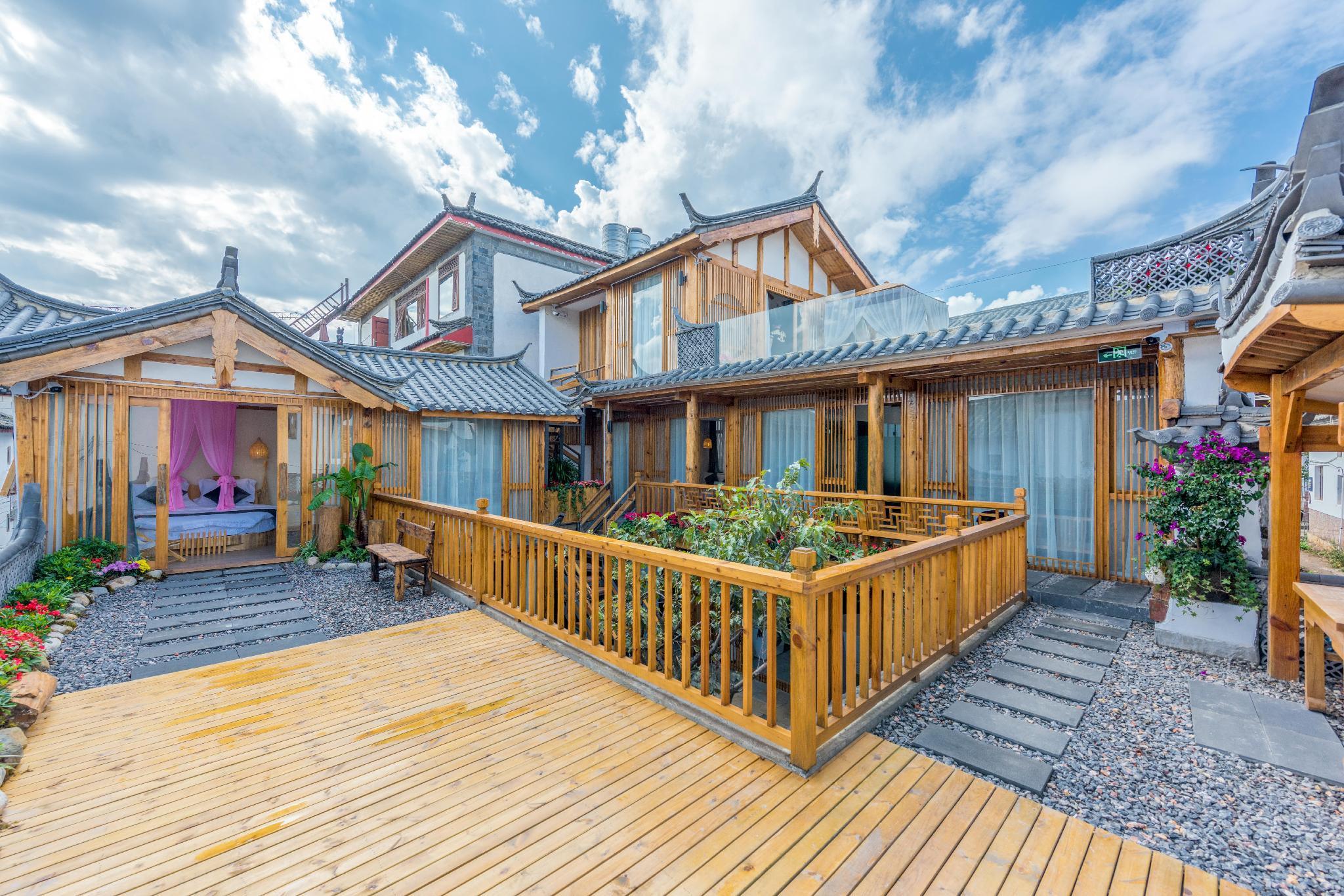 Chuyuan Holiday Courtyard Muxi Honeymoon Bed Room